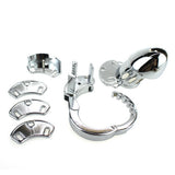 Male Chastity Device Adjustable 5 Size Ring 5