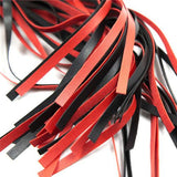 Black And Red Fancy Flogger - Couples Bondage 4