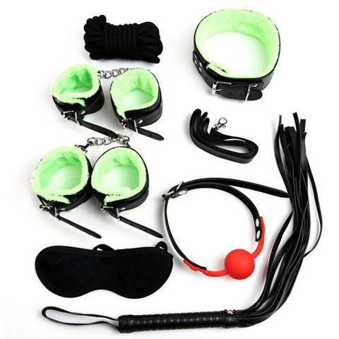Plush Bondage Gear Kit 7 Pcs