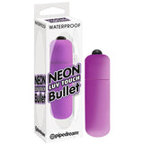 Pipedream Purple Neon Luv Touch Bullet Vibrator