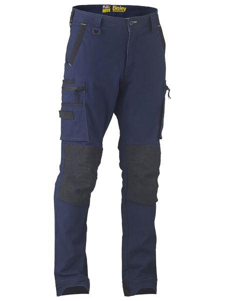 BISLEY Flex & Move™ Stretch Utility Cargo Trouser Kevlar Knee Pockets - UKPC6333 / Navy