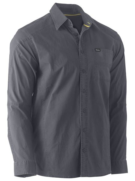 BISLEY Flex & Move™ Stretch Shirt - UKS6146 / Charcoal