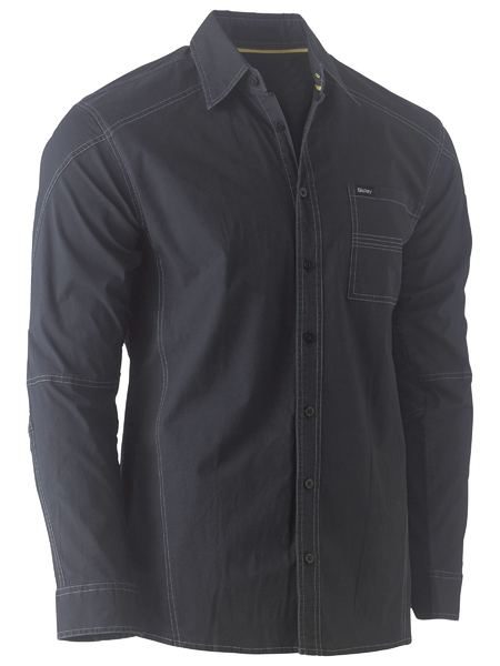 BISLEY Flex & Move™ Stretch Shirt - UKS6146 / Black