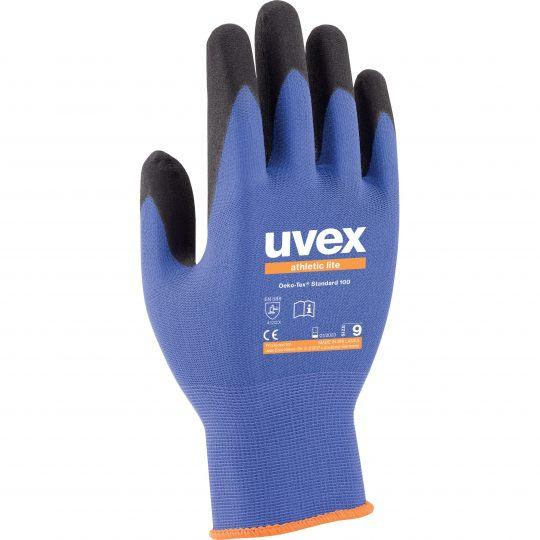 UVEX Athletic Lite Assembly Glove (Size 8 / Small)