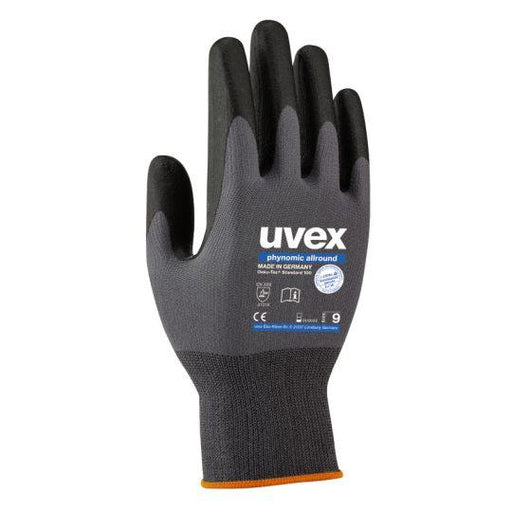 UVEX Phynomic Allround Safety Glove (Size 8 / Small)