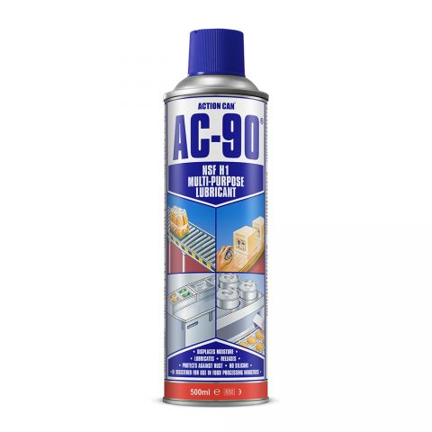 AC-90 MULTI-PURPOSE LUBRICANT FOOD GRADE (2007) 500ml Aerosol