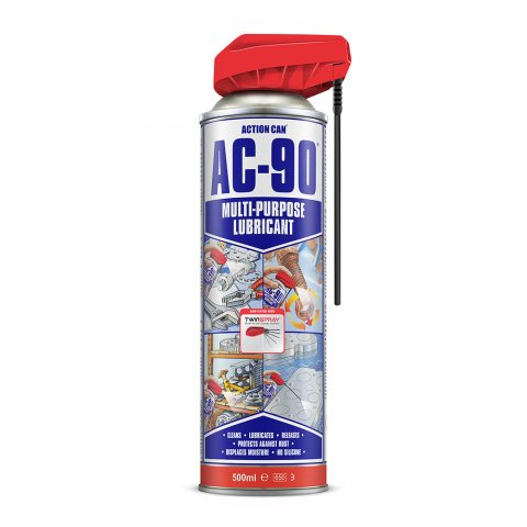 AC-90 TWIN SPRAY MULTI-PUPOSE LUBRICANT (2094) 500ml