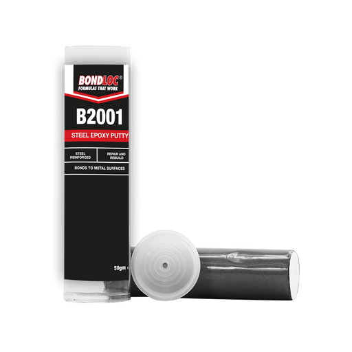 Bondloc Steel Epoxy Putty Sticks B2001 x 50g