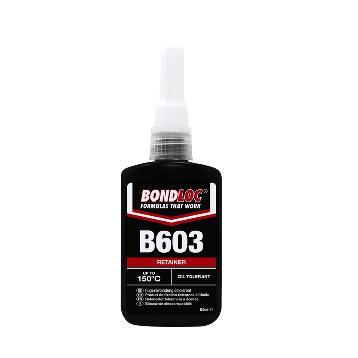 Bondloc Oil Tolerant Retainer B603 x 10ml (Box of 6)