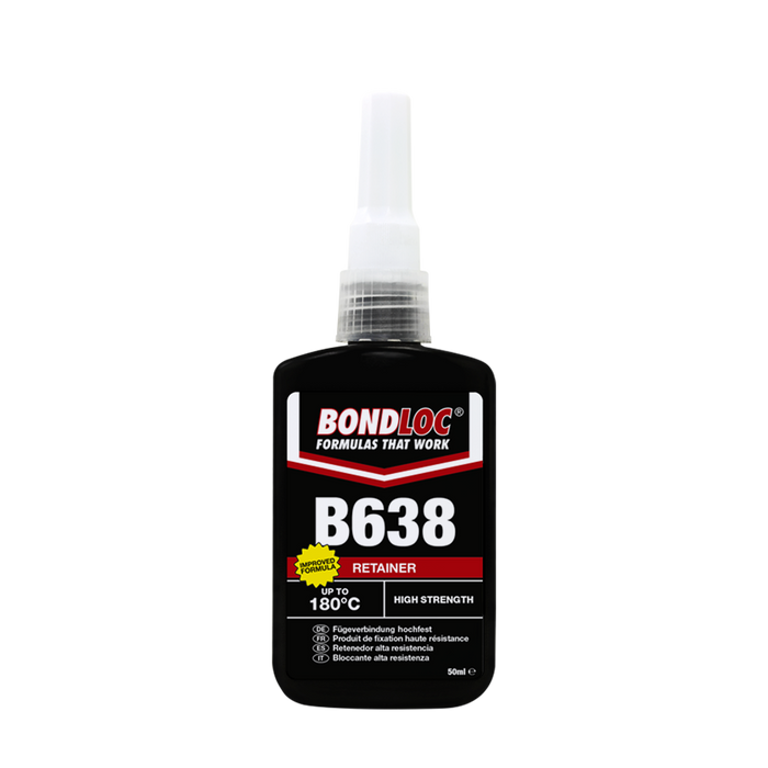 Bondloc High Strength Retainer B638 x 25ml