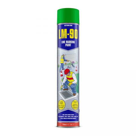 LM-90 LINE MARKING PAINT (GREEN)  (1893) 750ml Aerosol