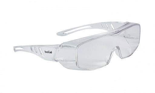 BOLLE Overlight Over-The-Glasses Safety Glasses (Clear)
