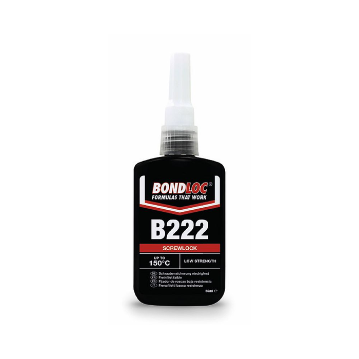 Bondloc Screwlock B222 x 50ml