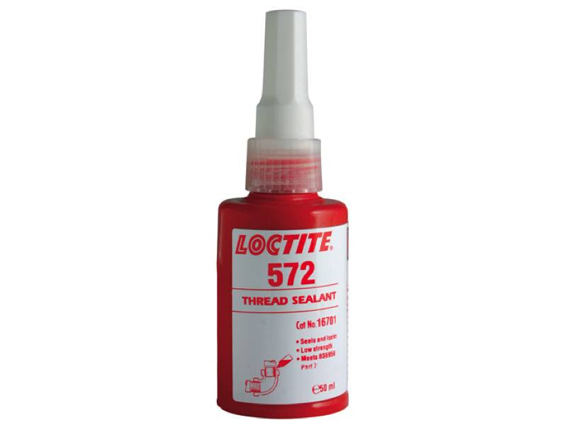 Loctite 572 Low Strength Slow Cure Pipeseal 50ml