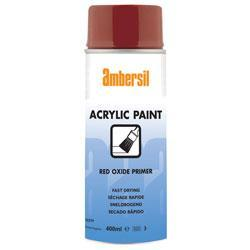 Ambersil Acrylic Paint Red Oxide Primer 400ml (32379)