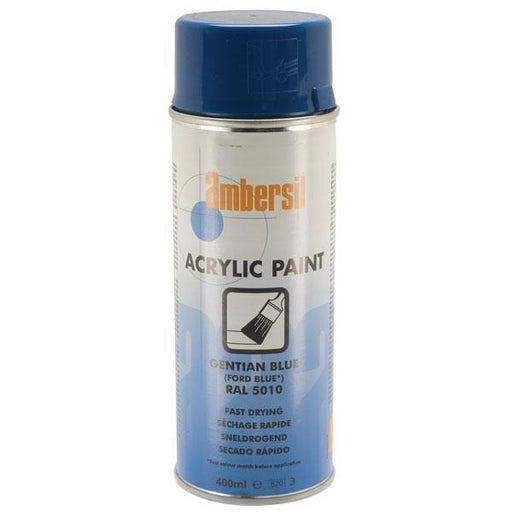 Ambersil Acrylic Paint Ford Blue RAL 5010 400ml (20555)