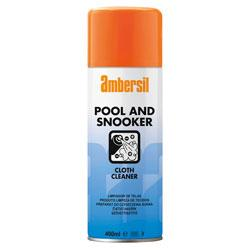 Ambersil Pool & Snooker Cloth Cleaner 400ml (31632) - Box of 12