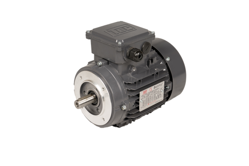 TEC IE3 Electric Motor 6 Pole 1000 RPM / 4.0 Kw / Frame Size:132M1-6 / Aluminium B14 Flange Mounted