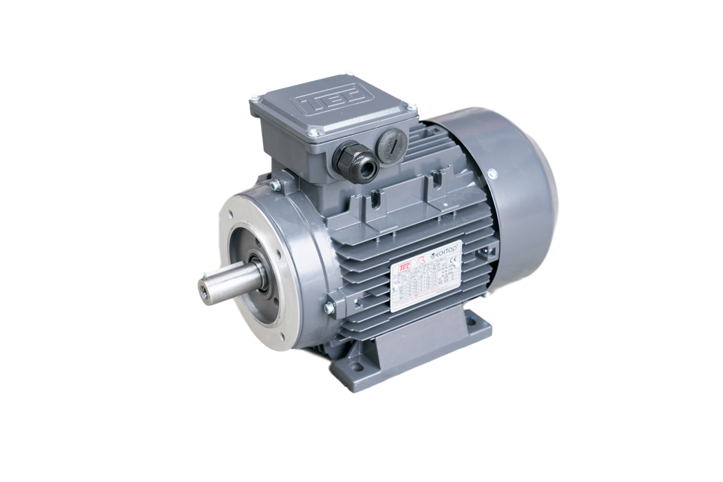 TEC IE3 Electric Motor 4 Pole 1500RPM / 5.5 Kw / Frame Size:132S-4 / Aluminium B34 Foot & Flange Mounted