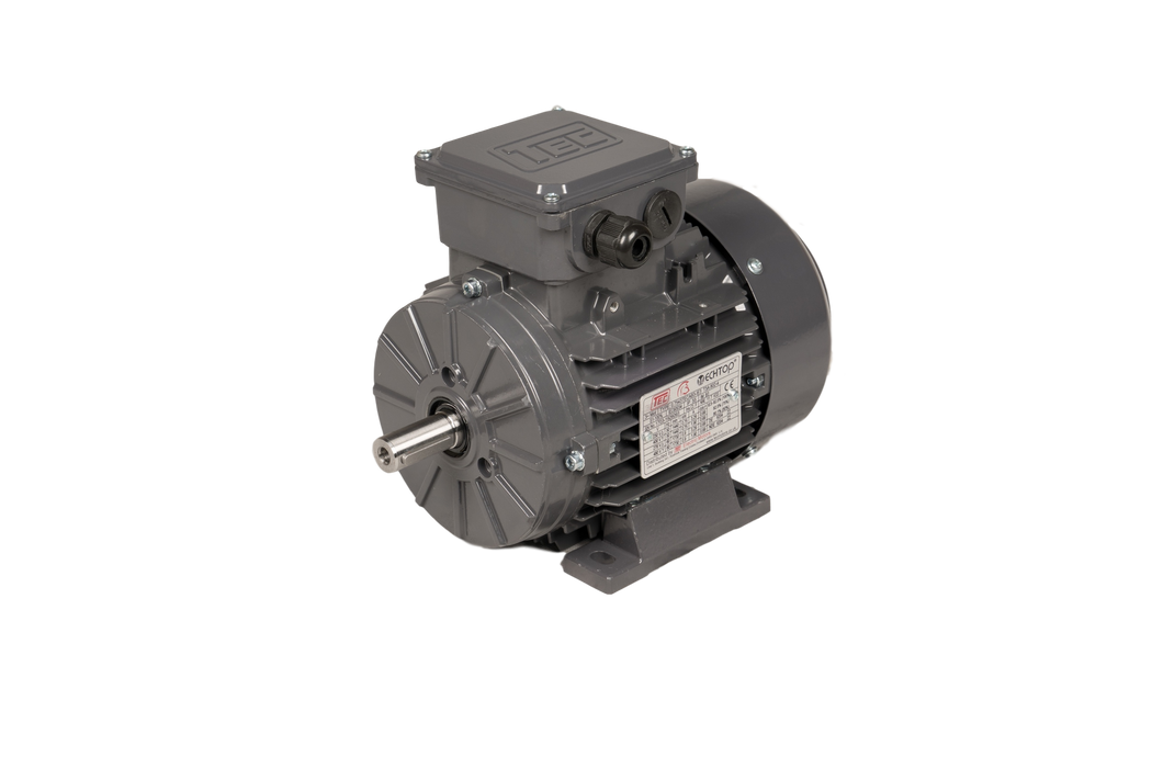 TEC IE3 Electric Motor 4 Pole 1500RPM / 0.75 Kw / Frame Size:802-4 / Aluminium B3 Foot Mounted