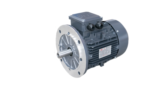 TEC IE3 Electric Motor 6 Pole 1000 RPM / 4.0 Kw / Frame Size:132M1-6 / Aluminium B5 Flange Mounted