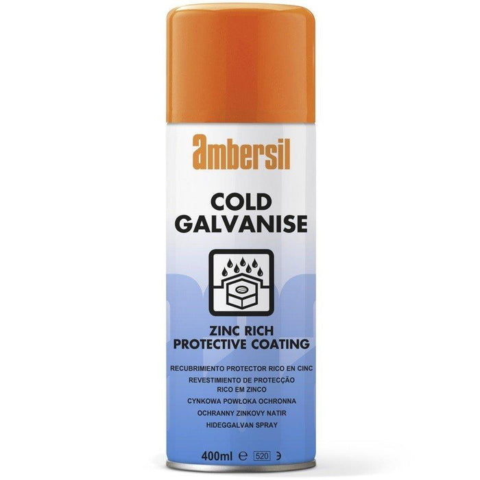 Ambersil Cold Galvanise Spray 400ml (30291) - Box of 12
