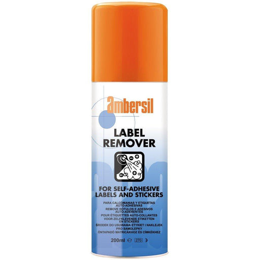 Ambersil Label Remover 200ml (31629) - Box of 12