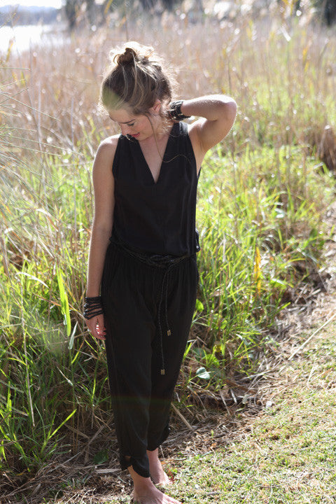 Ellie Silk Jumpsuit