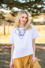 Amira Linen Short Sleeve T-Shirt