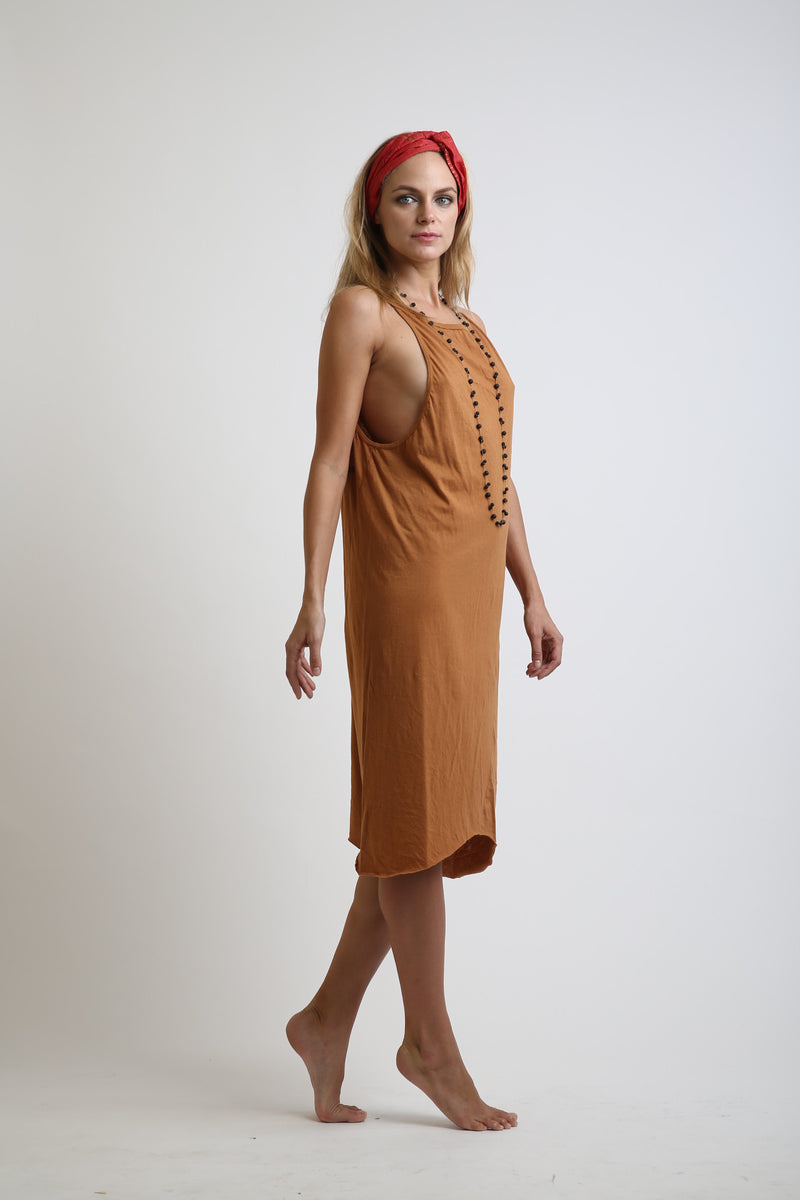 Minka Long Cotton Dress