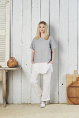 Zahara Fitted Linen Pant