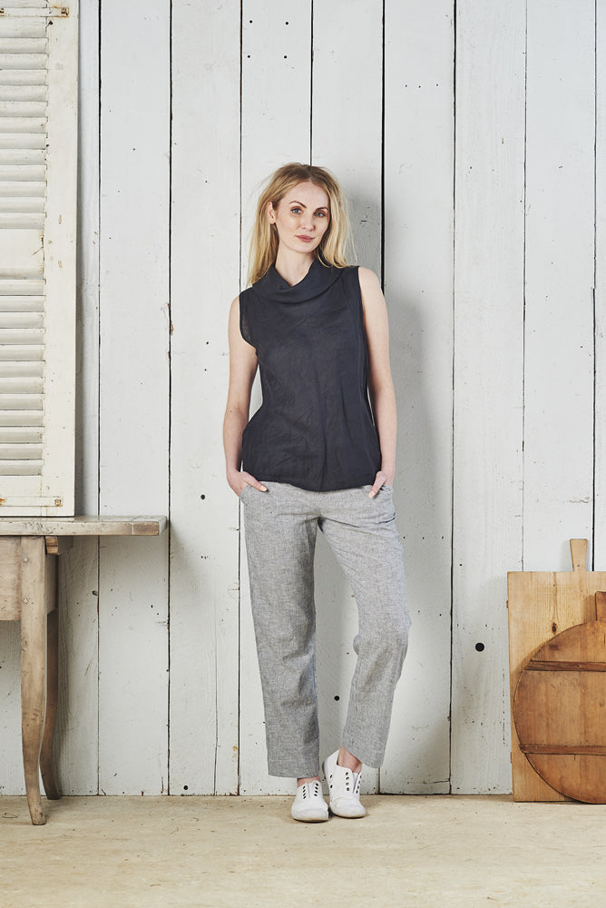 Franscesca Paris Linen Top