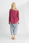 Minka Off The Shoulder Long Sleeve