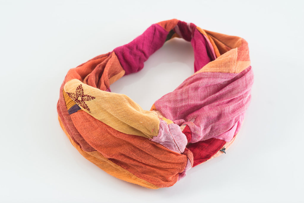 Oriana Silk Head Band