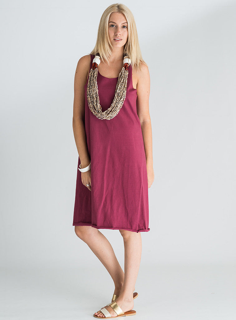 Indie Long Cotton Dress