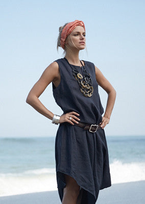Zoe Deconstructed Linen Dress