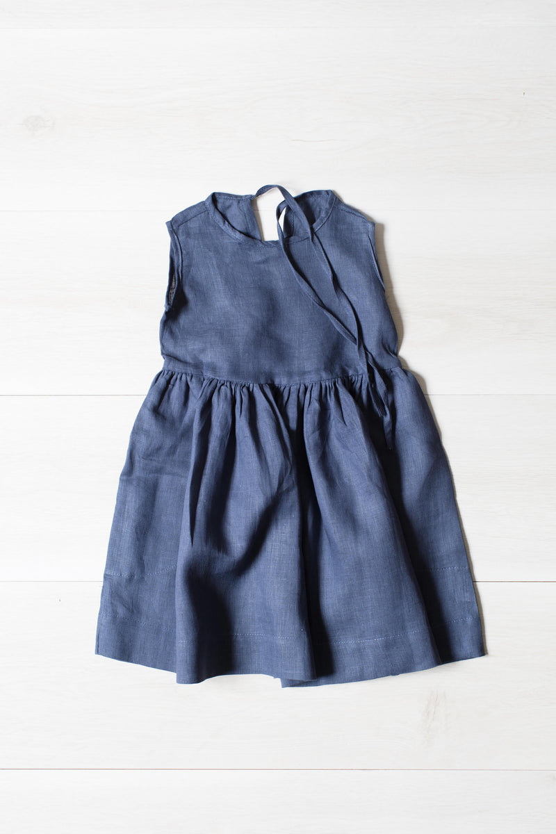 Maisy Linen Short Sleeve Summer Dress