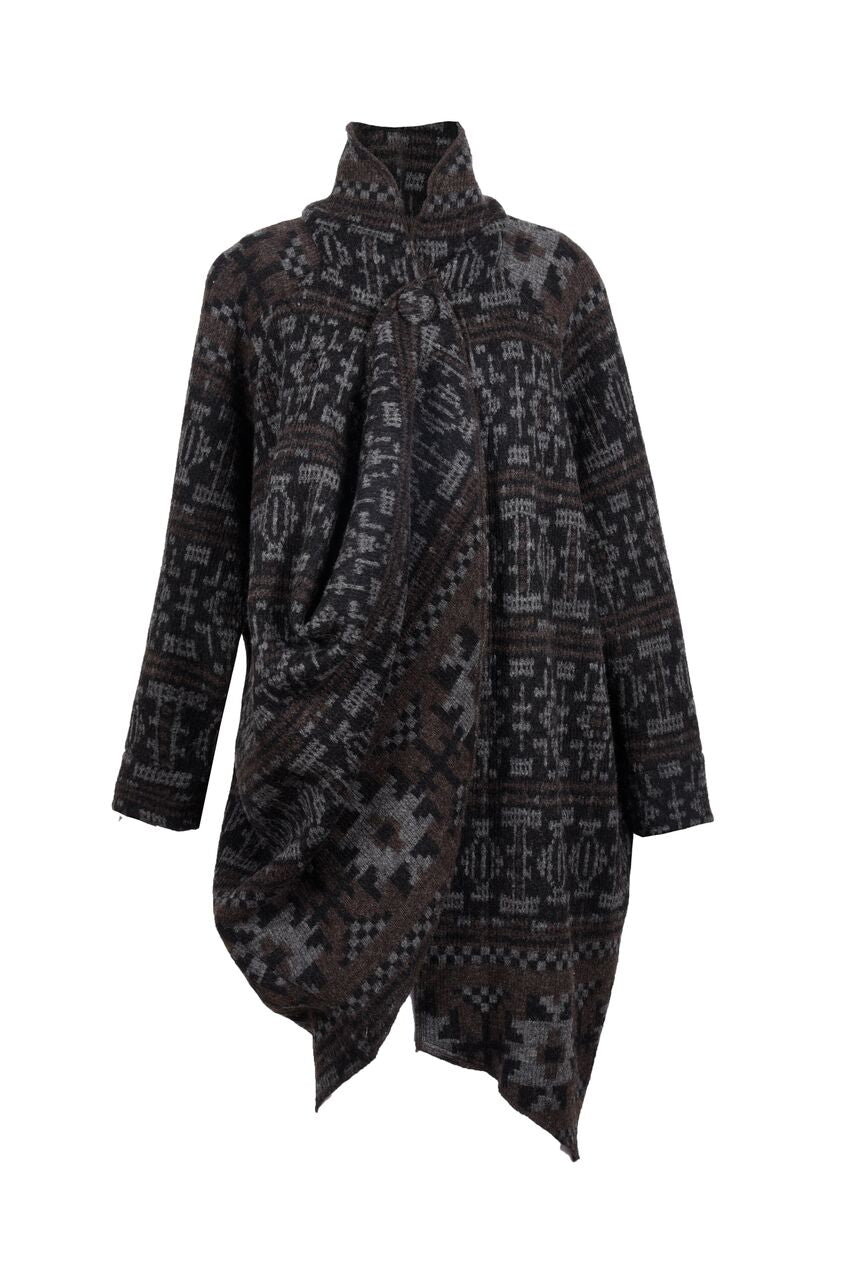 Willow Wool Aztec Knit Jacket