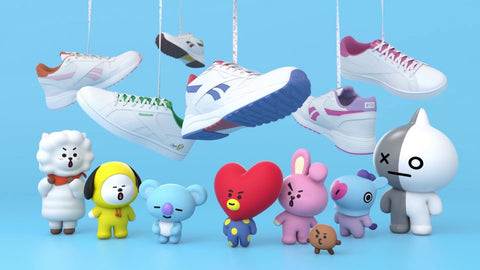 BT21 x Reebok Collection