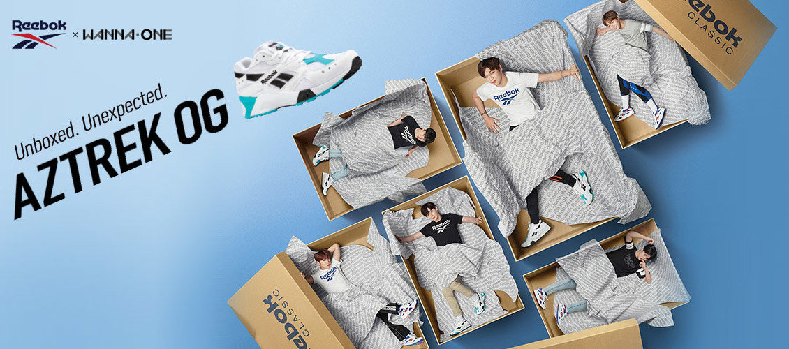 Reebok x Wanna One - Aztrek OG - Harumio