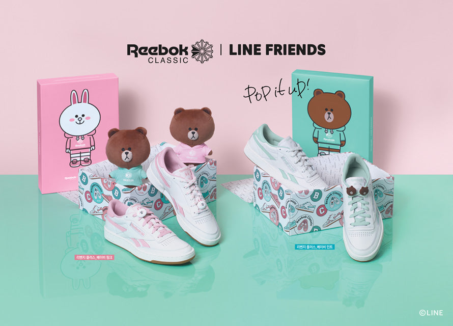 Reebok X Line Friends - Revenge Plus - Harumio