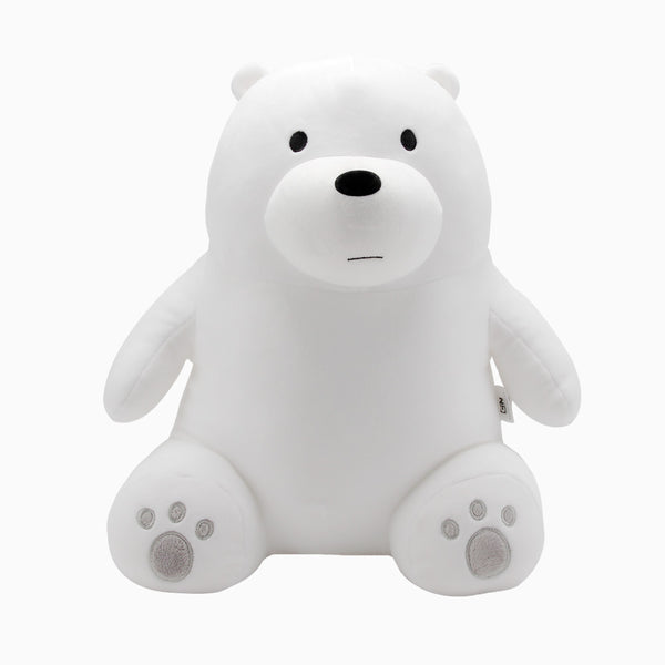 We Bare Bears - Sitting Plushie -  Ice Bear