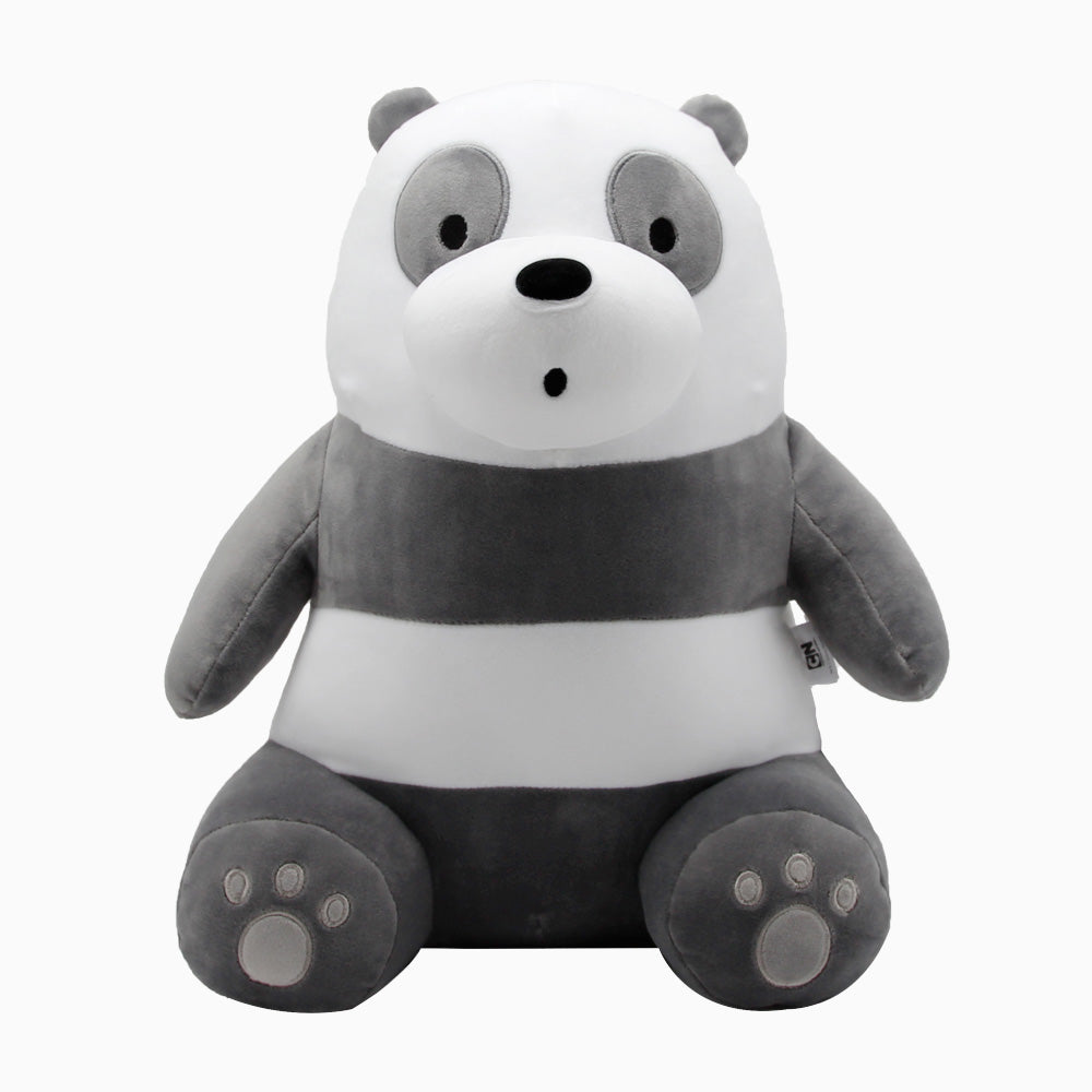 We Bare Bears - Sitting Plushie - Panda