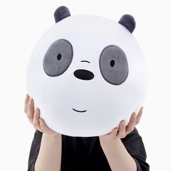 We Bare Bears - Face Cushion - Panda