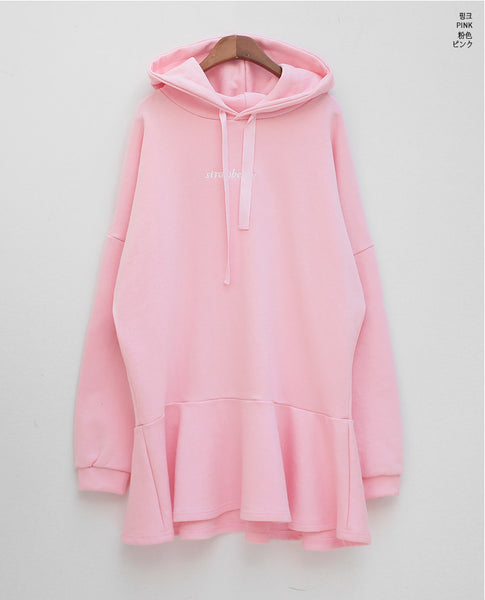 Chuu - Strawberry Milk Event Dress - Hoodie - Harumio