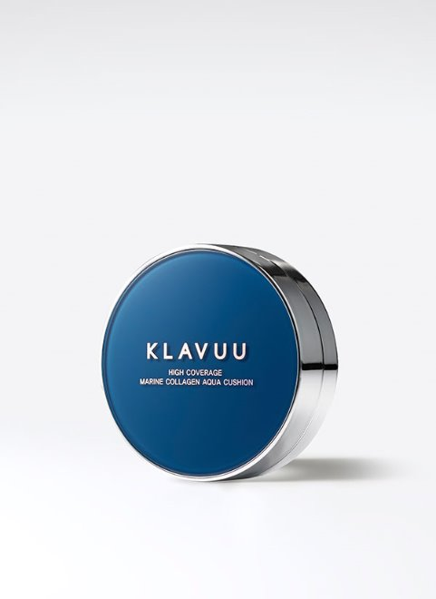 Klavuu - Blue Pearlsation High Coverage Marine Collagen Aqua Cushion