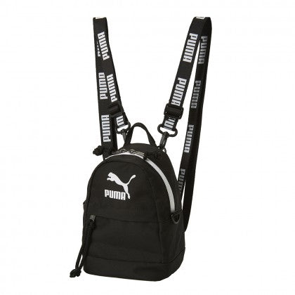 PUMA X BTS - PUMA MINIME RETRO BACKPACK - Puma Black