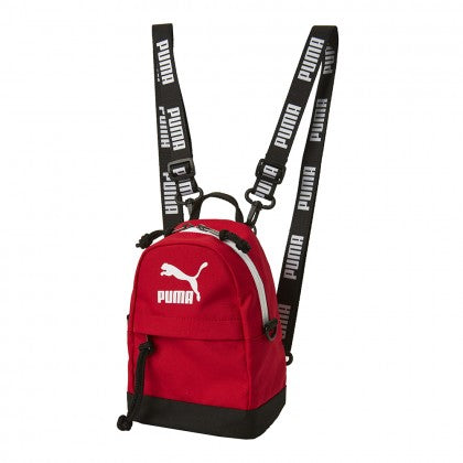 PUMA X BTS - PUMA MINIME RETRO BACKPACK - High Risk Red