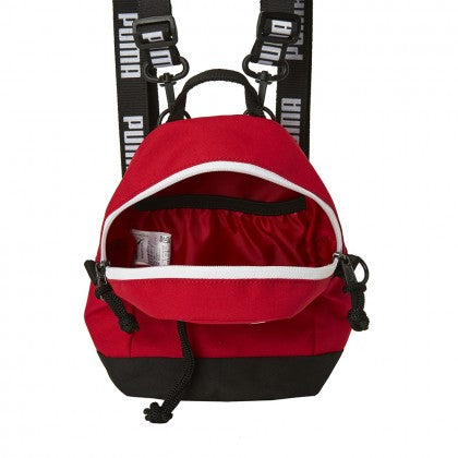 5270d1acc65c PUMA X BTS - PUMA MINIME RETRO BACKPACK - High Risk Red