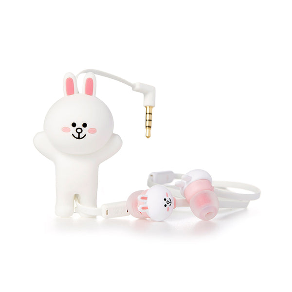 Line Friends -  Cony Earphone Pouch Set - Bag - Harumio